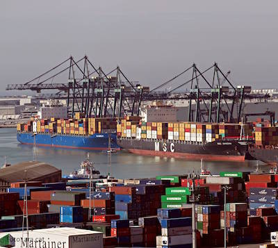 Cargo traffic through Port of Barcelona up 20% before April