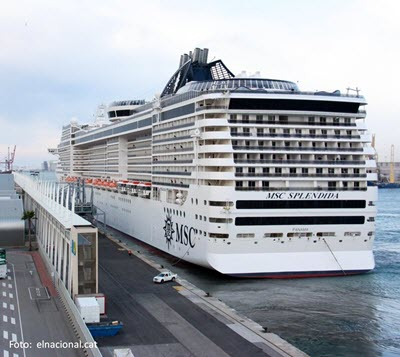 El Puerto de Barcelona tendrá una nueva terminal de cruceros de la naviera MSC