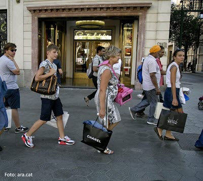 International tourism expenditure in Catalonia rose by 6.3% in September, totalling € 15,800 M