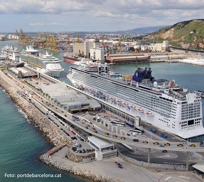 El Puerto de Barcelona se consolida: crecimiento del 48,5% en tráfico de mercancías y 867 cruceros en 2018