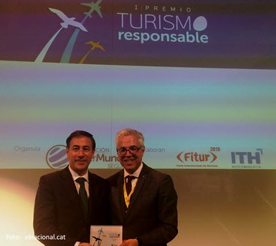 Catalonia, the winner of a Fitur Award for sustainable tourism