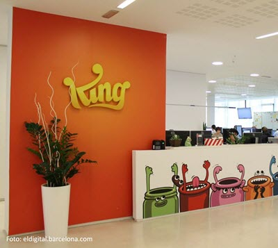 La multinacional King, creadora de 'Candy Crush', se trasladará al 22@