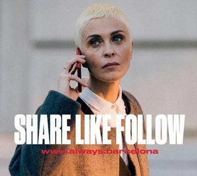 Barcelona pone en marcha la campaña Share Like Follow Barcelona, pensada para ser compartida