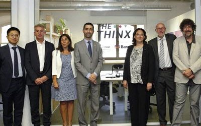 "Barcelona consolidates as digital innovation hub following the opening of the ""Thinx"" lab for 5G tech projects"