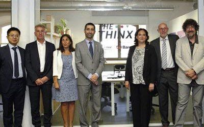 Barcelona es consolida com a hub d'innovació digital amb l'estrena del laboratori 'Thinx' de projectes de tecnologia 5G