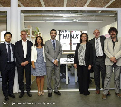 Barcelona consolidates as digital innovation hub following the opening of the 'Thinx' lab for 5G tech projects
