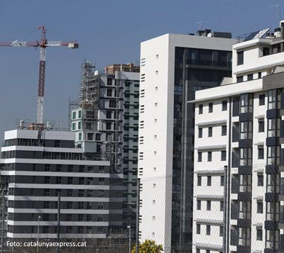 Real estate investment in Catalonia grows a 38% during the third quarter exceeding €800M