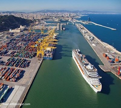 Barcelona's port reaches record figures in 2018: 67.7M tonnes of total traffic, a 10% more than in 2017