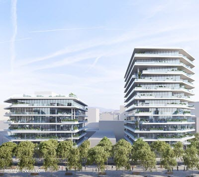 Tech companies lead the quarterly office rental market in Barcelona