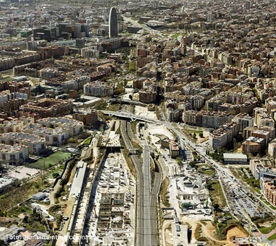 Barcelona-Sagrera Project: new central station, new sustainable urban growth centre