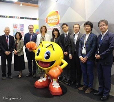 Japanese group Bandai Namco sets up new mobile-games development company in Barcelona
