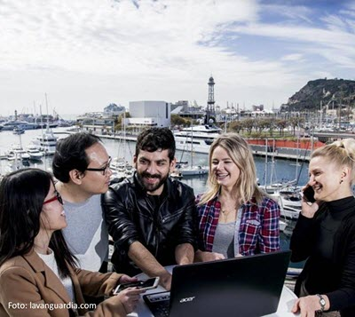 Barcelona, ranked fourth among world cities in attracting talent