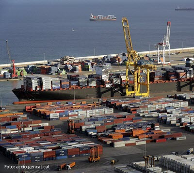 Container traffic in the Port of Barcelona rises by 1.3% up until August