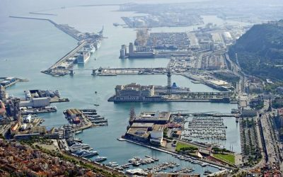 The Port of Barcelona moves 57.6 million tons of goods in 10 months